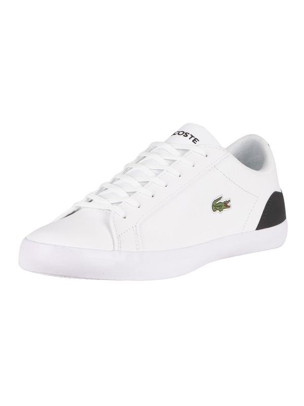 Lacoste Lerond 0120 1 CMA Leather Trainers - White/Black