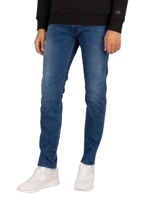 Replay Anbass Jeans - Dark Indigo