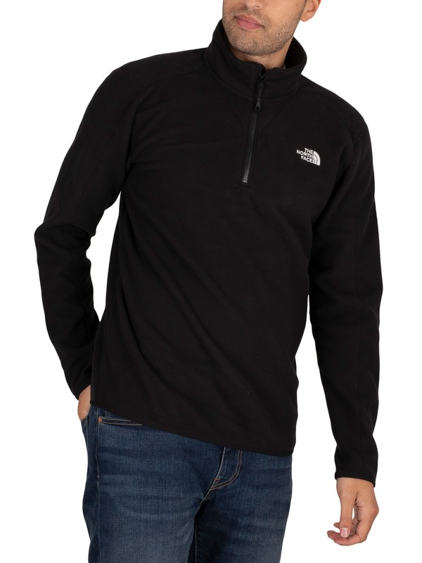 The North Face Resolve Fleece 1/4 Sweatshirt - Black
