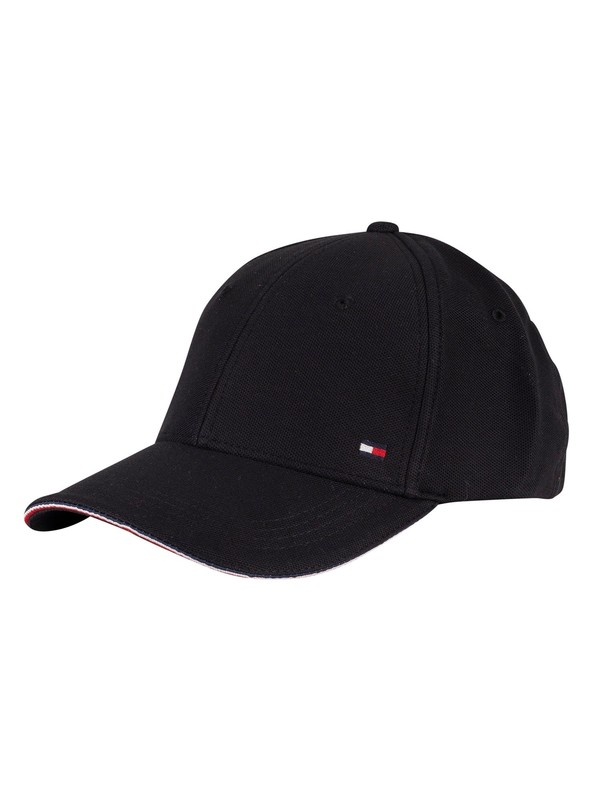 Tommy Hilfiger Elevated Corporate Baseball Cap - Black
