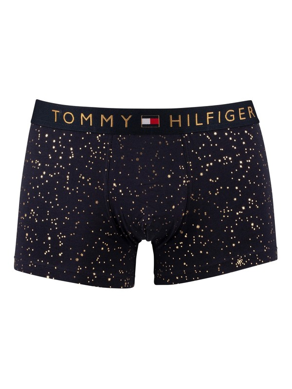 Tommy Hilfiger Printed Trunks - Holiday Stars Desert Sky