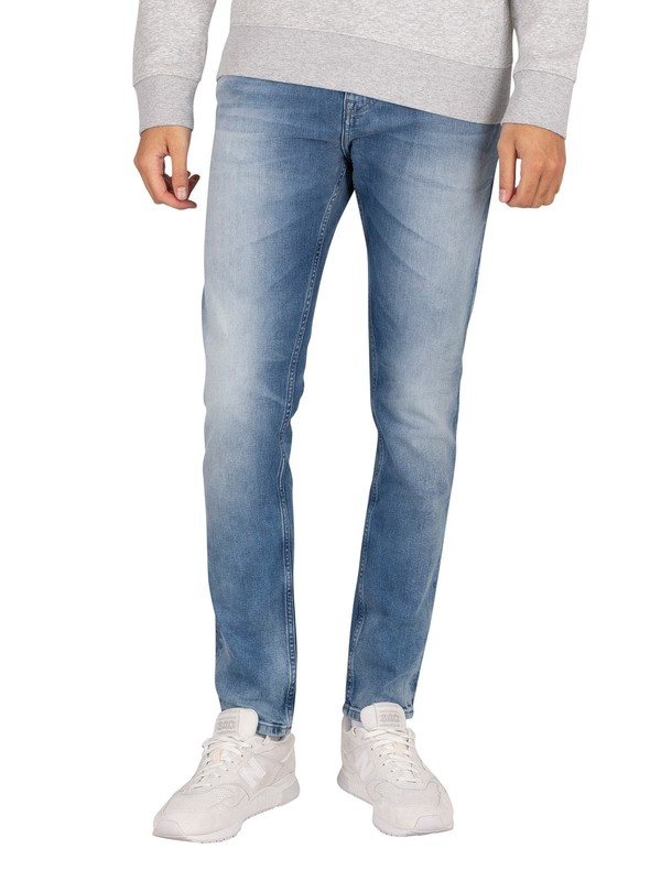 Tommy Jeans Austin Slim Jeans - Wilson Light Blue Stretch