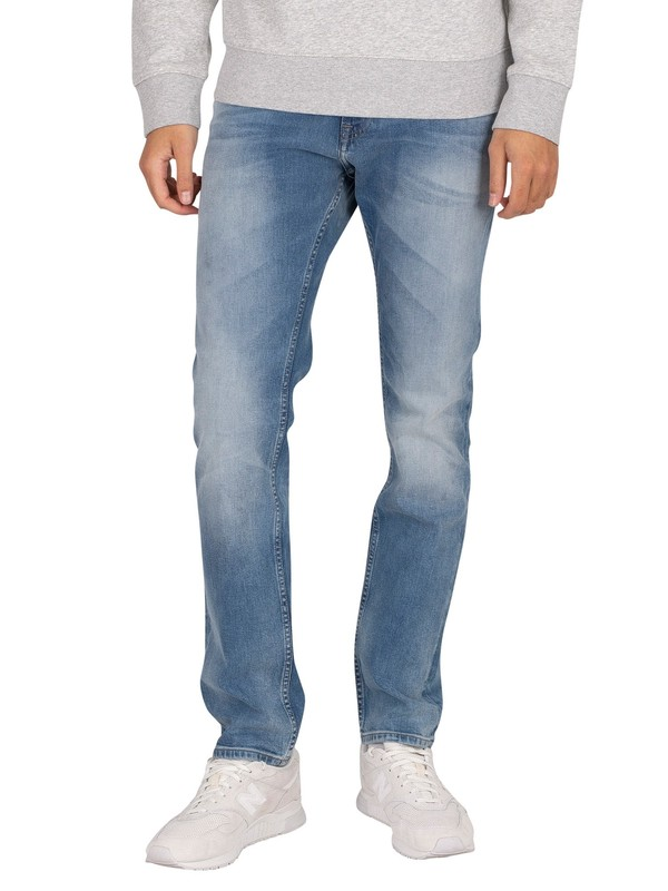 Tommy Jeans Scanton Slim Jeans - Wilson Light Blue Stretch
