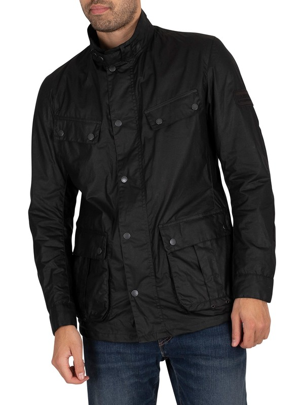Barbour International Lightweight Duke Jacket - Black