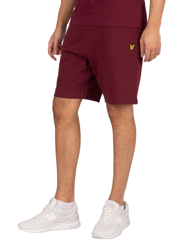 Lyle & Scott Sweat Shorts - Merlot