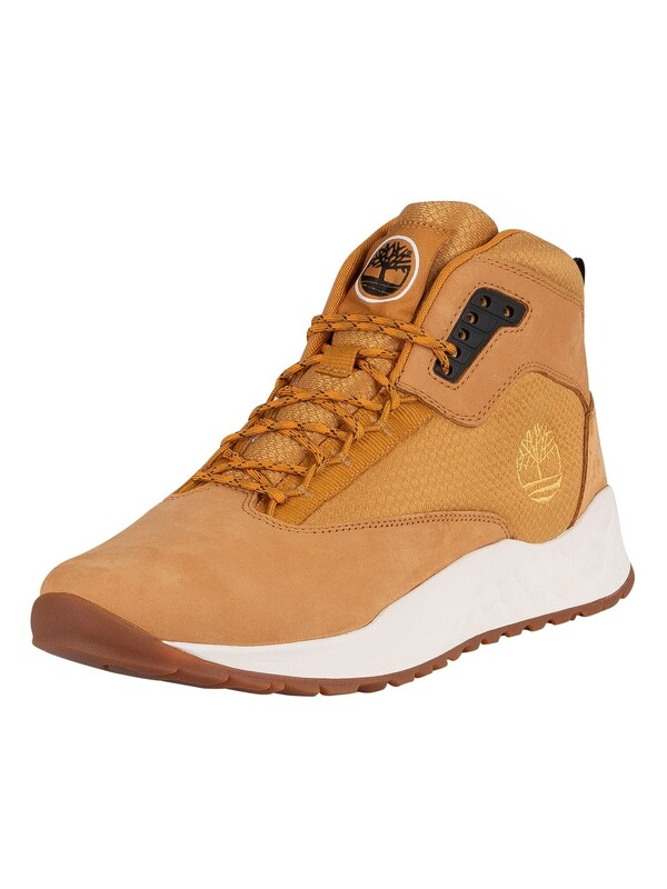 Timberland Solar Wave Mid Leather Boots - Wheat Nubuck