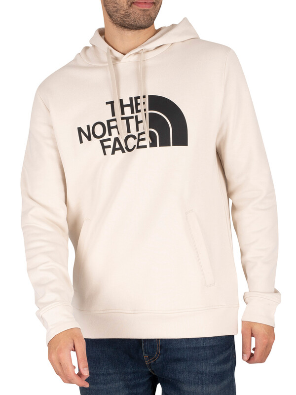 The North Face Half Dome Pullover Hoodie - Vintage White