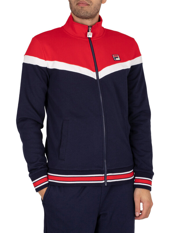 Fila Flint Track Jacket - Peacoat/Chinese Red