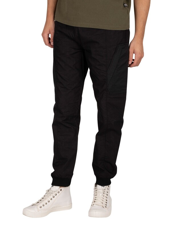 G-Star Woven Mix Cargo Joggers - Dark Black