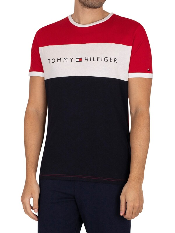 Tommy Hilfiger Lounge Logo T-Shirt - Primary Red