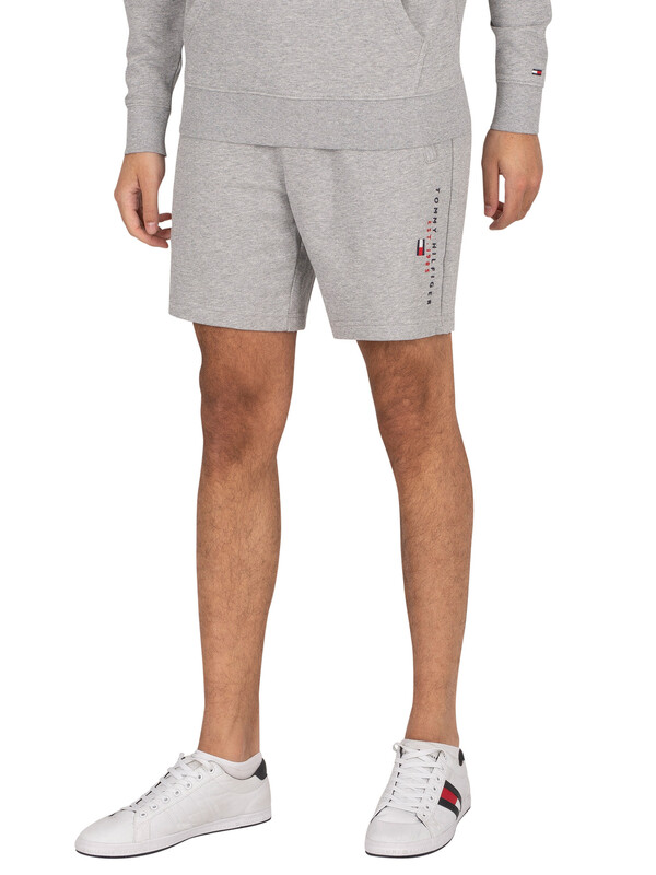 Tommy Hilfiger Essential Sweat Shorts - Medium Grey Heather