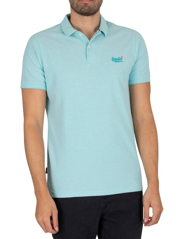 Superdry Classic Pique Polo Shirt - Spearmint