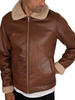 Jack & Jones Flight Sherpa Jacket - Cognac